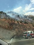 I-70 Closed Due to Wildfire