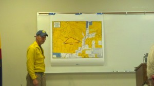 Jeff Berino, Ward Gulch Fire Incident Commander