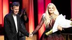 Randy Travis surprises Carrie Underwood as she celebrates a decade on the Grand Ole Opry
