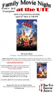 Family Movie Night at The Ute @ The New Ute Events Center | Rifle | Colorado | United States