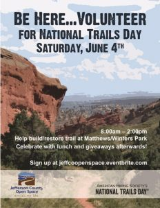 National Trails Day at Matthews/Winters Park @ Matthews/Winters Park |  |  |
