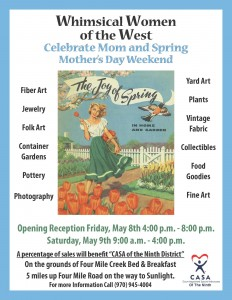 Whimsical Women of the West Spring Show @ Four Mile Creek Bed and Breakfast | Glenwood Springs | Colorado | United States